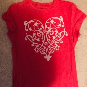 Billabong Red Graphic s/s Tee